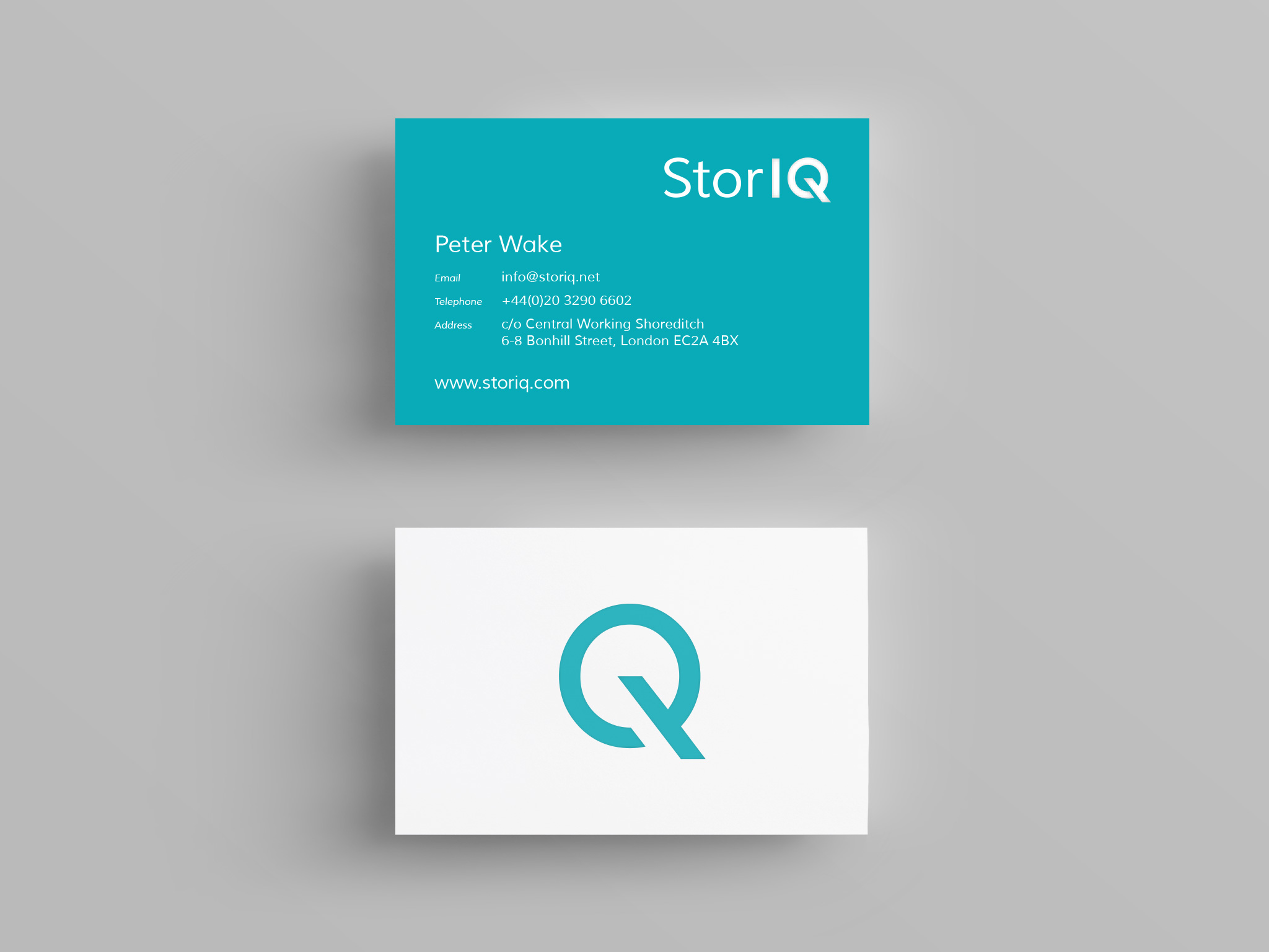StorIQ brand creation, brand guidelines and marketing collateral