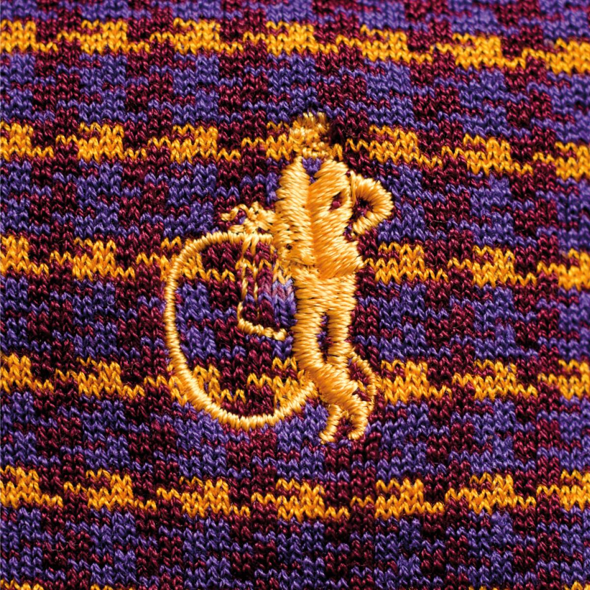London Sock Company logo embroidered on sock