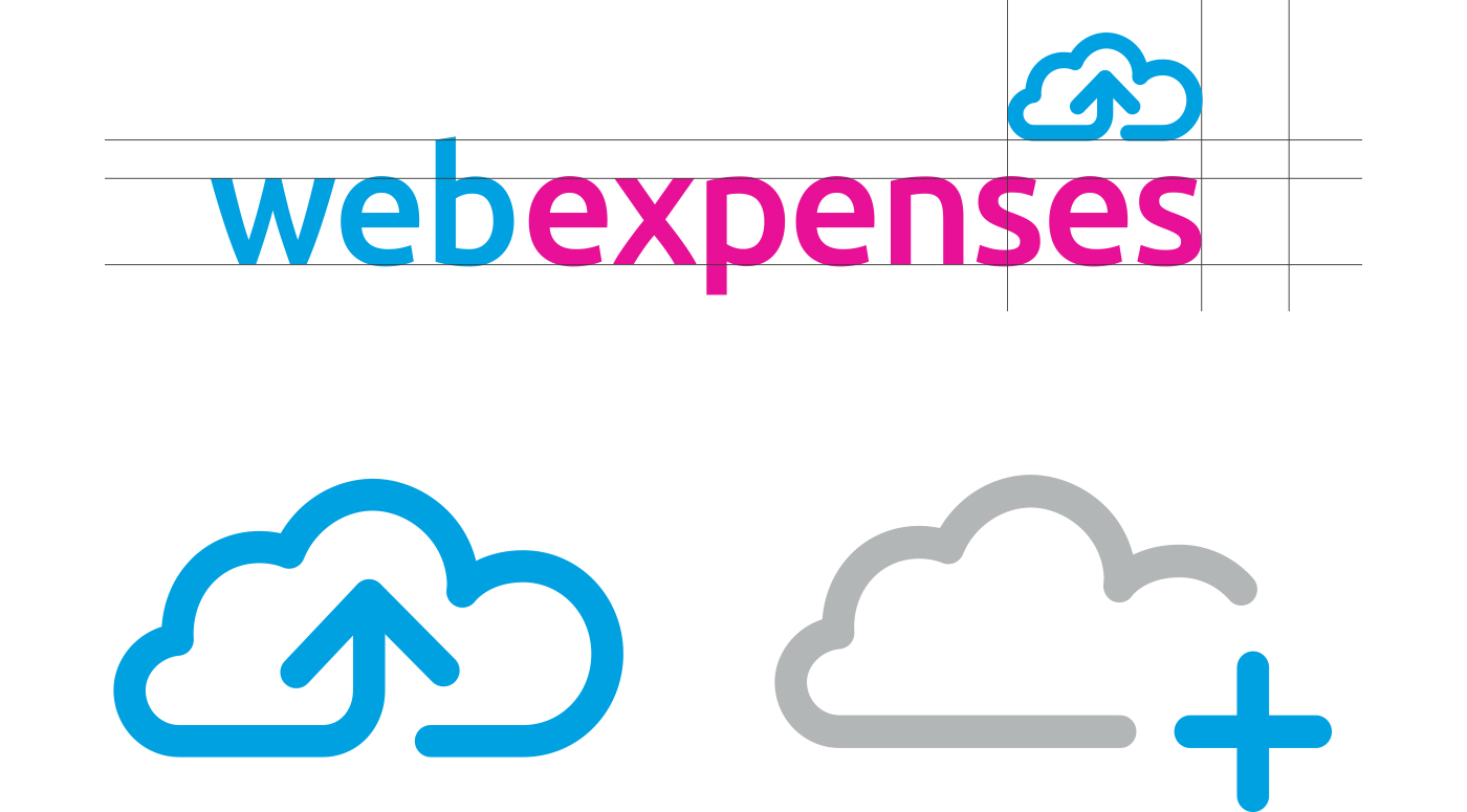 Webexpenses logo re-design