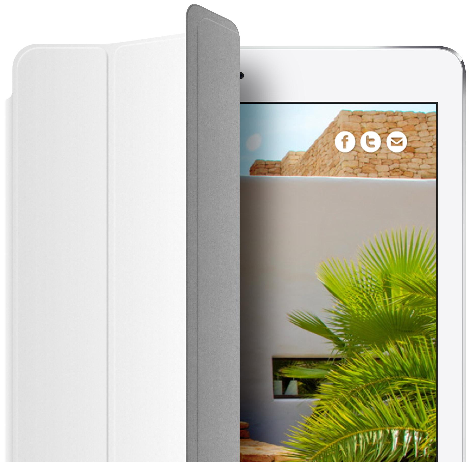 Can Tiki villa website design and development on iPad
