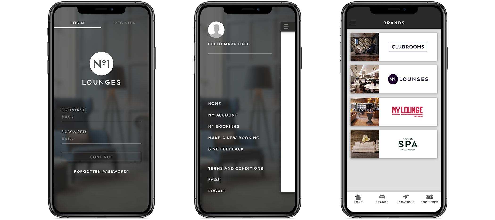 Native app design on iPhone X