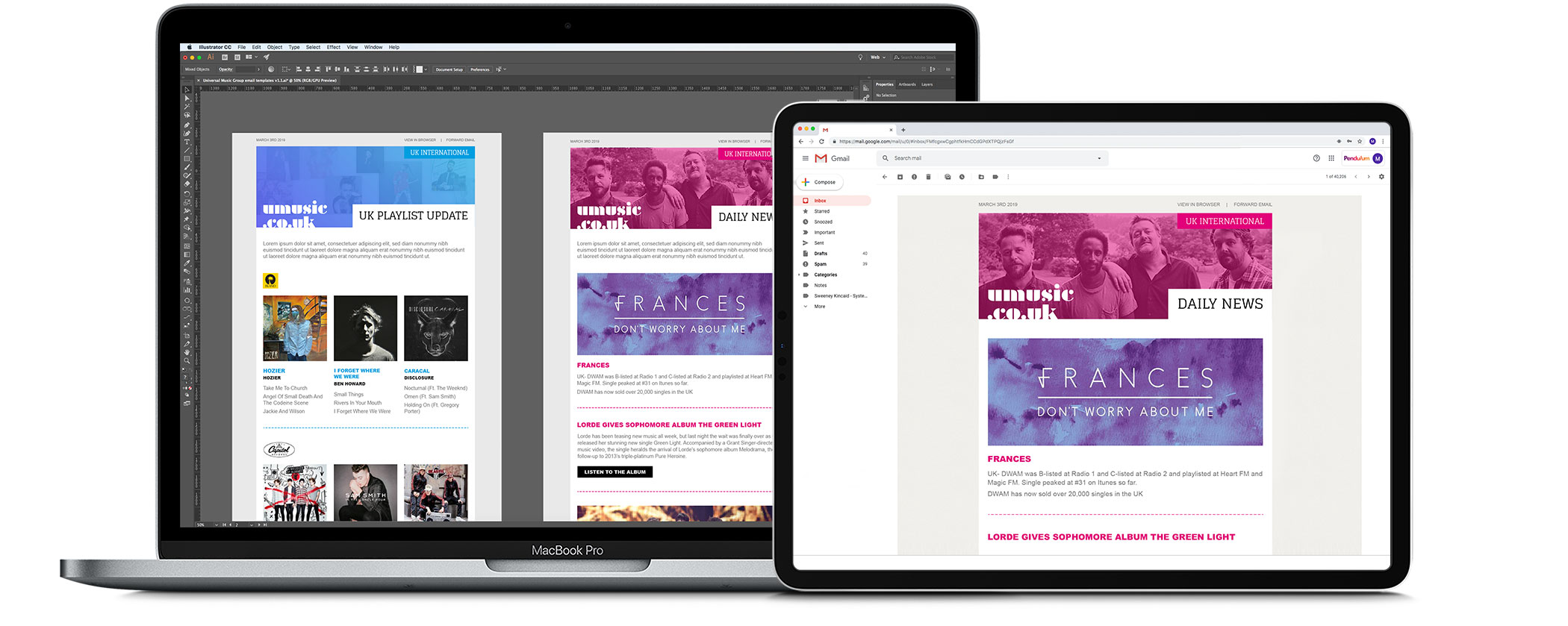 Pendulum Creative email marketing services