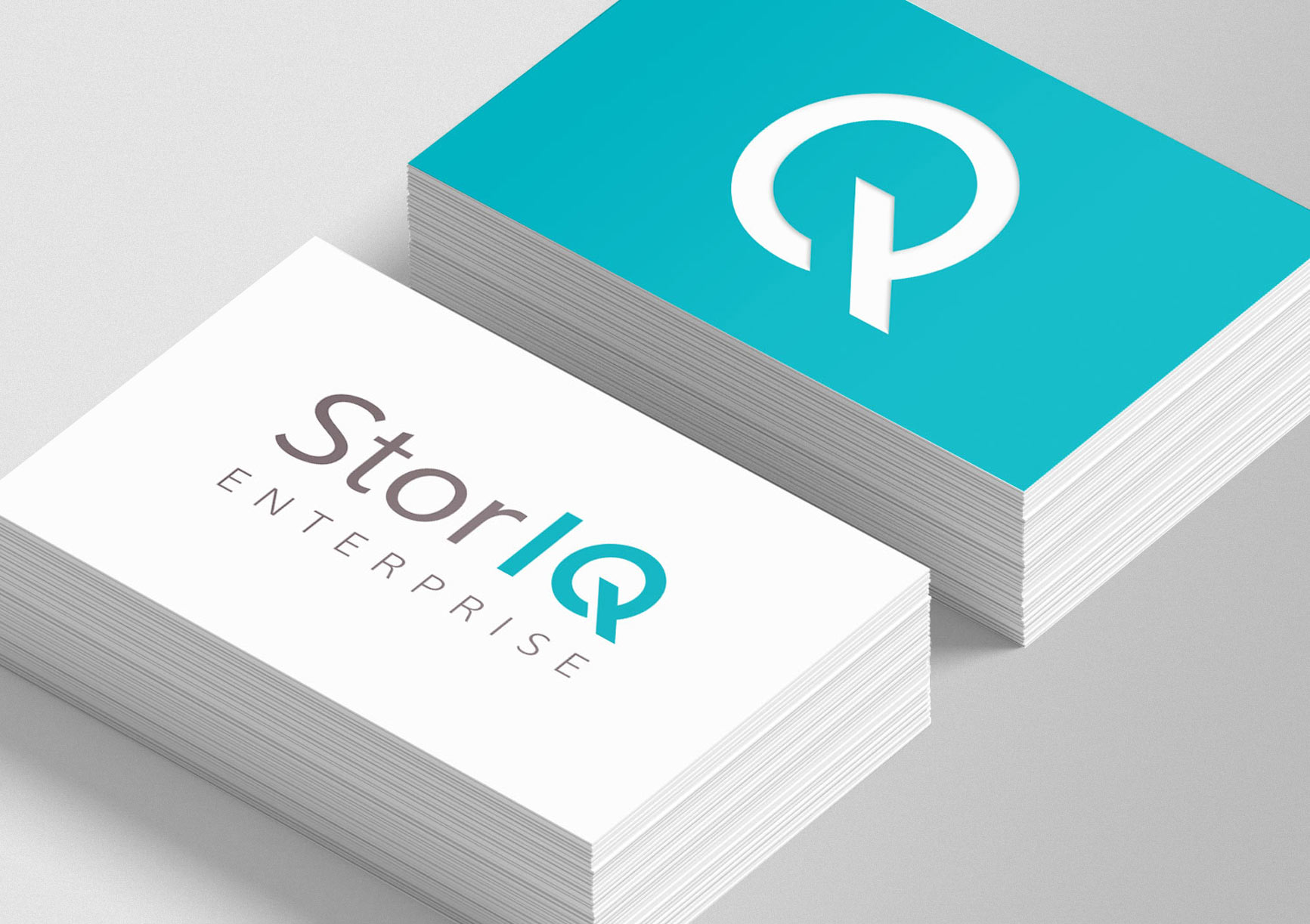 StorIQ business card design